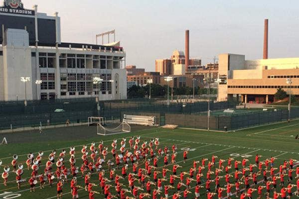 Photo of Ohio State Marching Band Clinic