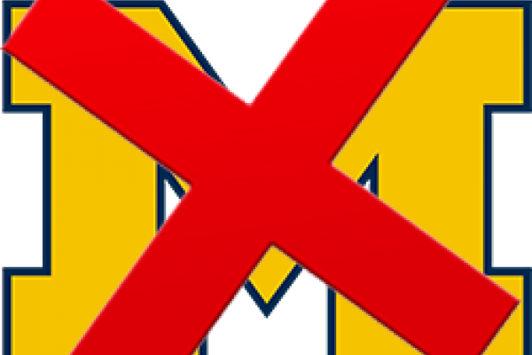 MIchigan Logo with X