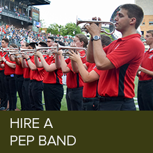 Hire a Pep Band