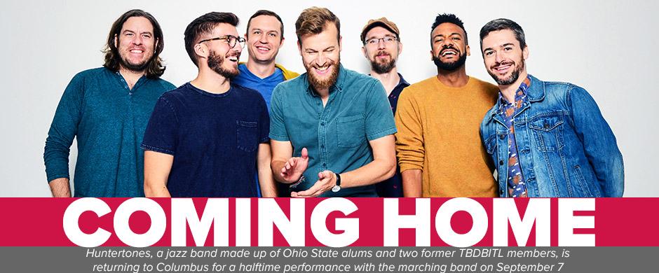 Huntertones band are coming home to Ohio Stadium