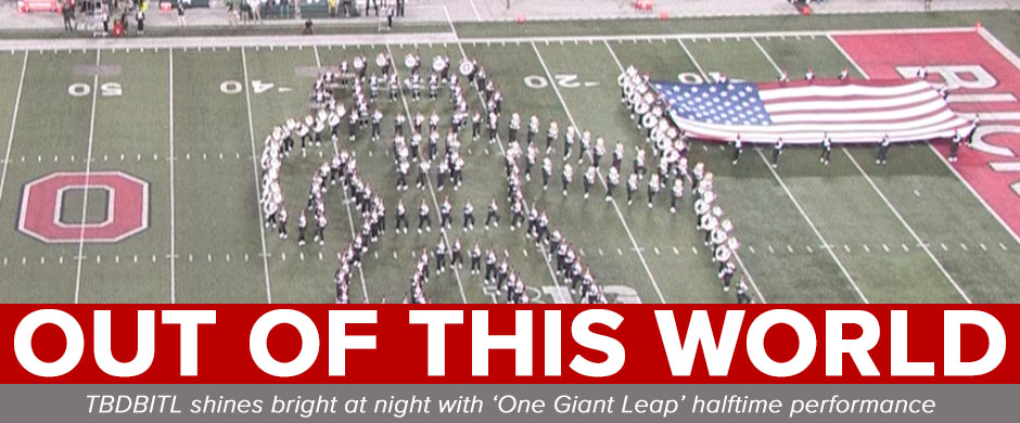 TBDBITL forms an astronaut planting a flag on the moon